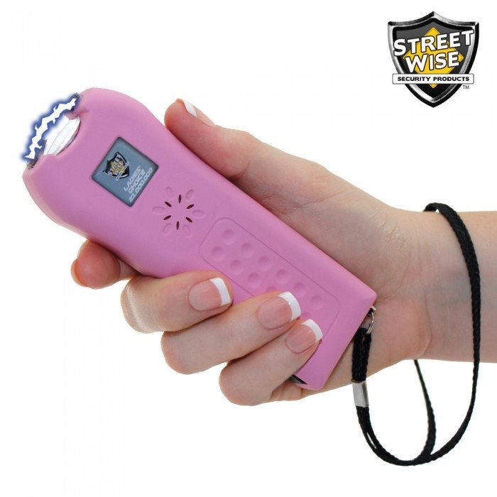 Streetwise Ladies' Choice 21,000,000 Volt Pink Stun Gun