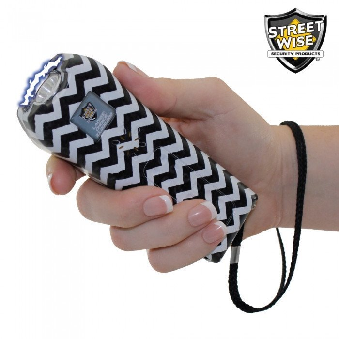 Streetwise Ladies' Choice 21,000,000 Volt Zebra Stun Gun