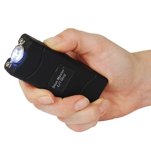 Stun Guns - Stun Master Lil Guy 12,000,000 Volt Stun Flashlight In Black