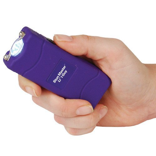 Stun Master Lil Guy 12,000,000 Volt Stun Flashlight in Purple