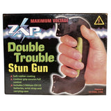 Highest Voltage Taser - ZAP Double Trouble Stun Gun 1,200,000 Volt Box