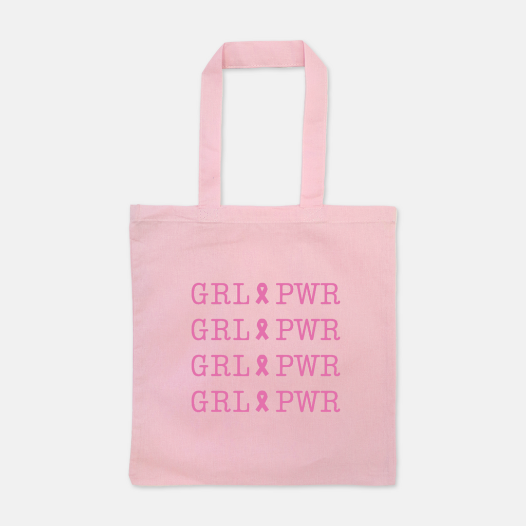 Girl Power Ribbon Tote - Mint Pop Shop