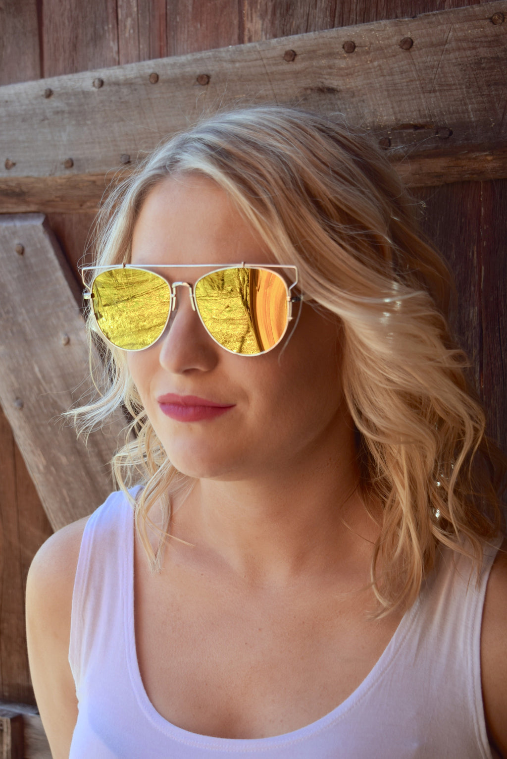 Sunshine Retro Sunnies - Mint Pop Shop