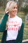 Girls Support Girls T-Shirt - Tie Dye