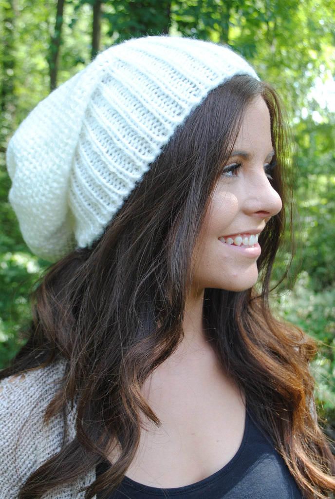 Autumn Days Beanie - Ivory - Mint Pop Shop