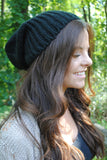Autumn Days Beanie - Black - Mint Pop Shop