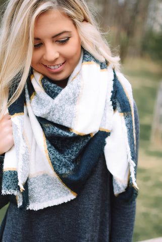 The Kylie Blanket Scarf