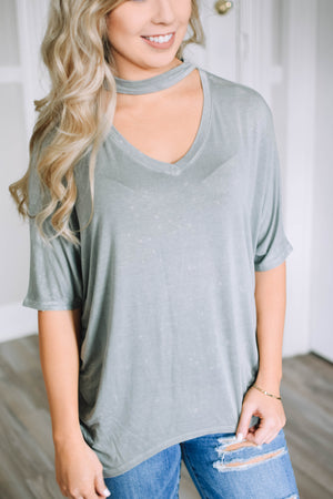Lizzy Slouchy T - Mint Pop Shop