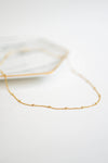 Gold Sparkle Hoops