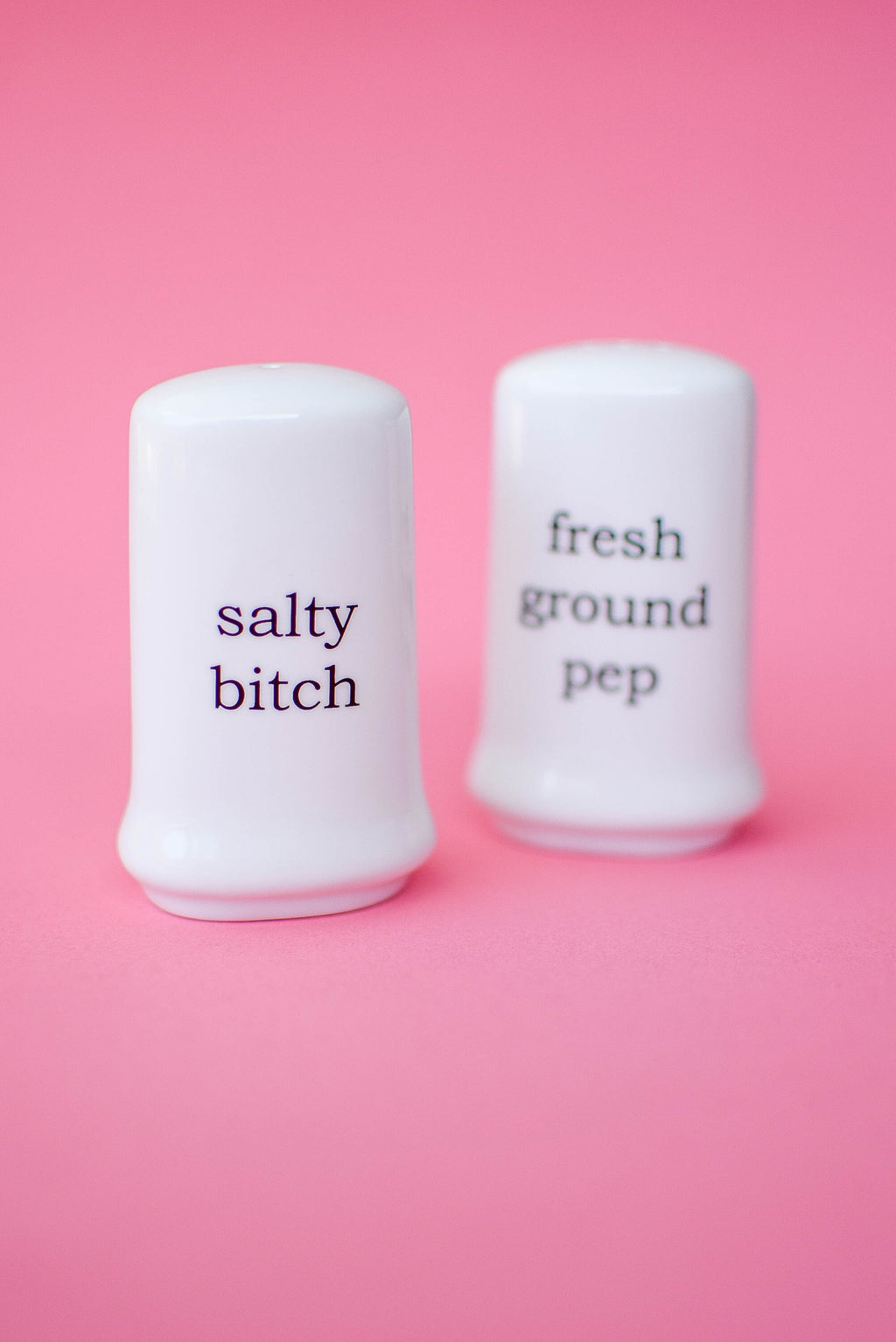 Salty Betch - Salt and Pepper Shakers - Mint Pop Shop