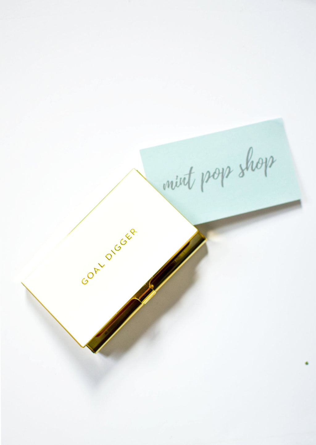 Goal Digger - Business Card Holder - Mint Pop Shop
