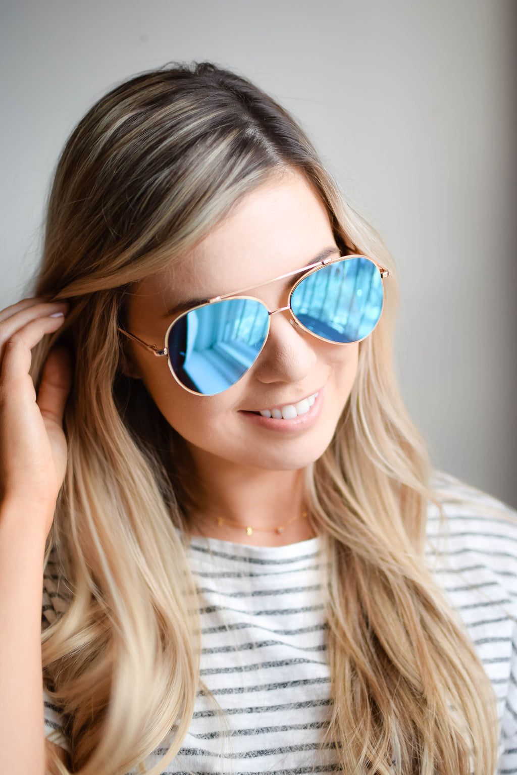 Dallas Sunglasses - Turquoise - Mint Pop Shop
