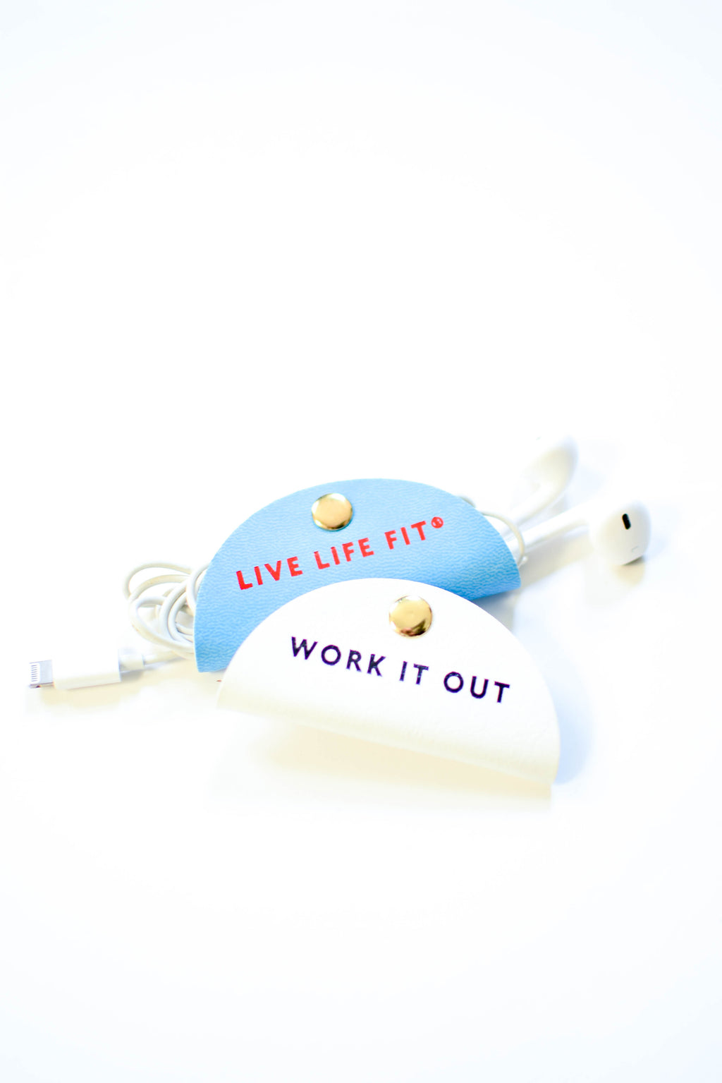 Work It Out Headphone Clips - Mint Pop Shop
