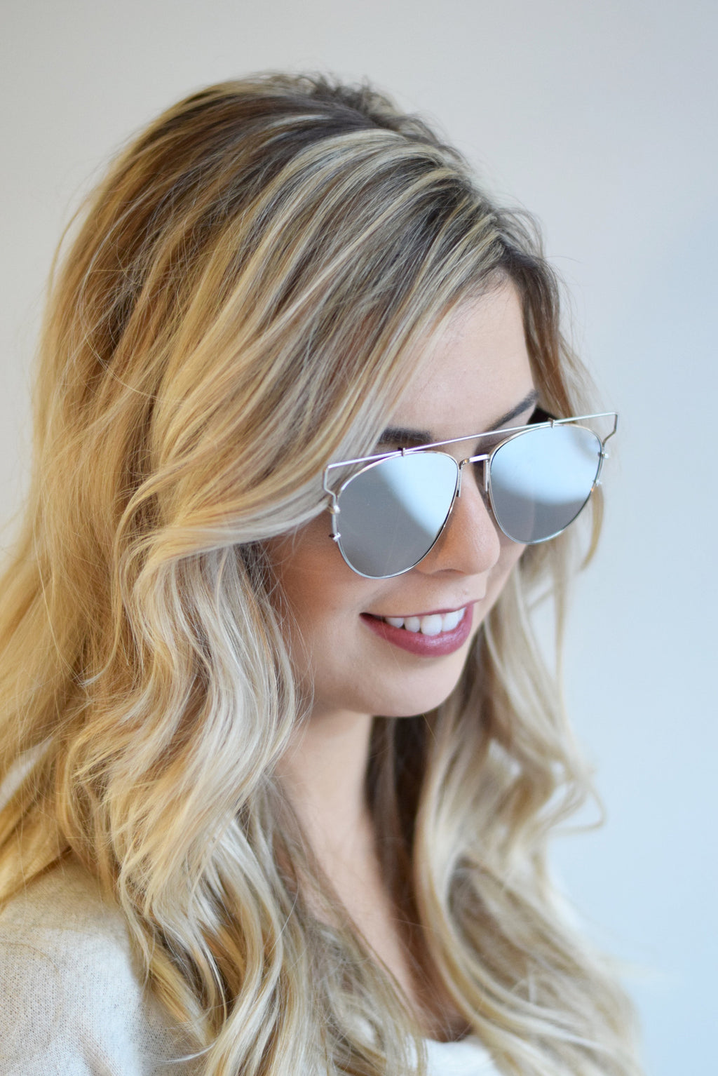 Silver Retro Sunglasses - Mint Pop Shop