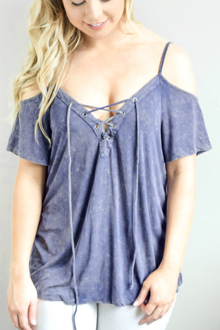Belle Wrap Top
