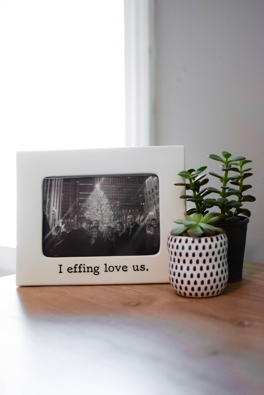 I Effing Love Us Photo Frame - Mint Pop Shop
