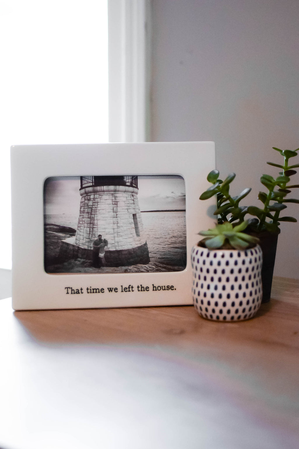 That Time We Left The House - Photo Frame - Mint Pop Shop