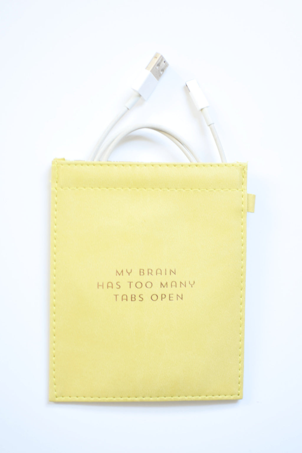 Too Many Tabs - Cord Pouch - Mint Pop Shop