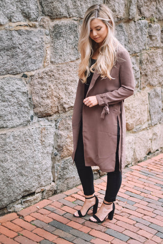 Wool Coat - Camel