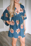 Boston Floral Dress - Mint Pop Shop