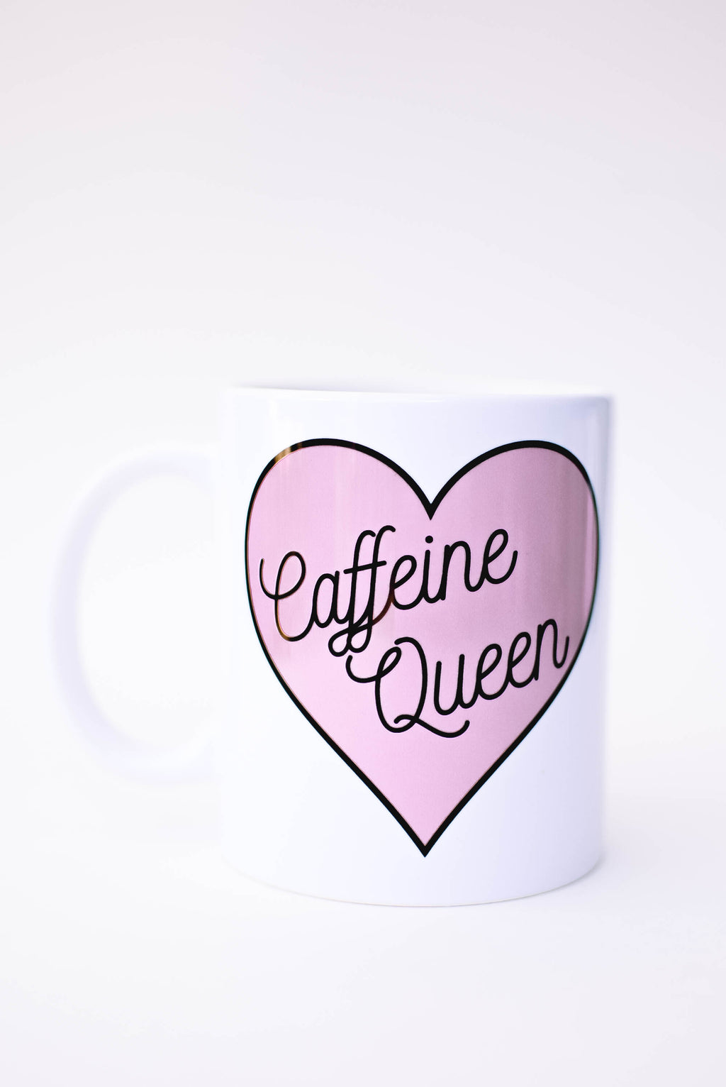 Caffeine Queen Mug - Mint Pop Shop