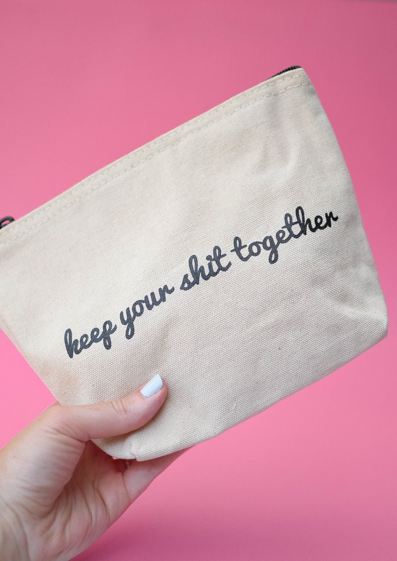 Keep Your Sh*t Together Makeup Bag