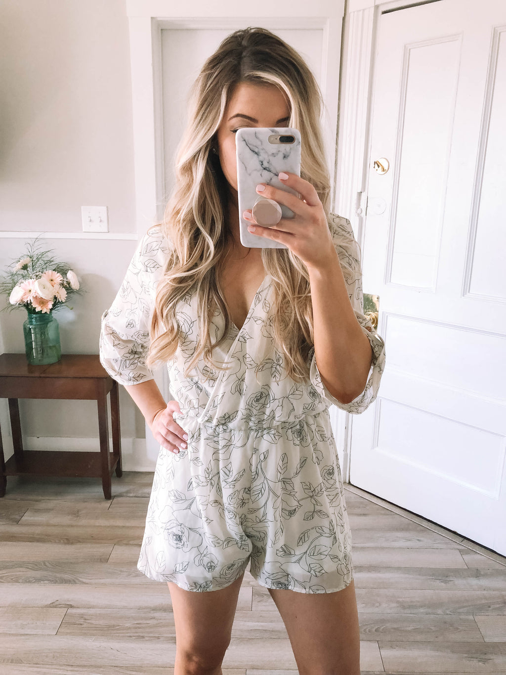 The Kelsey Romper - Mint Pop Shop