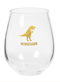 Winosaur Stemless Wine Glass - Mint Pop Shop