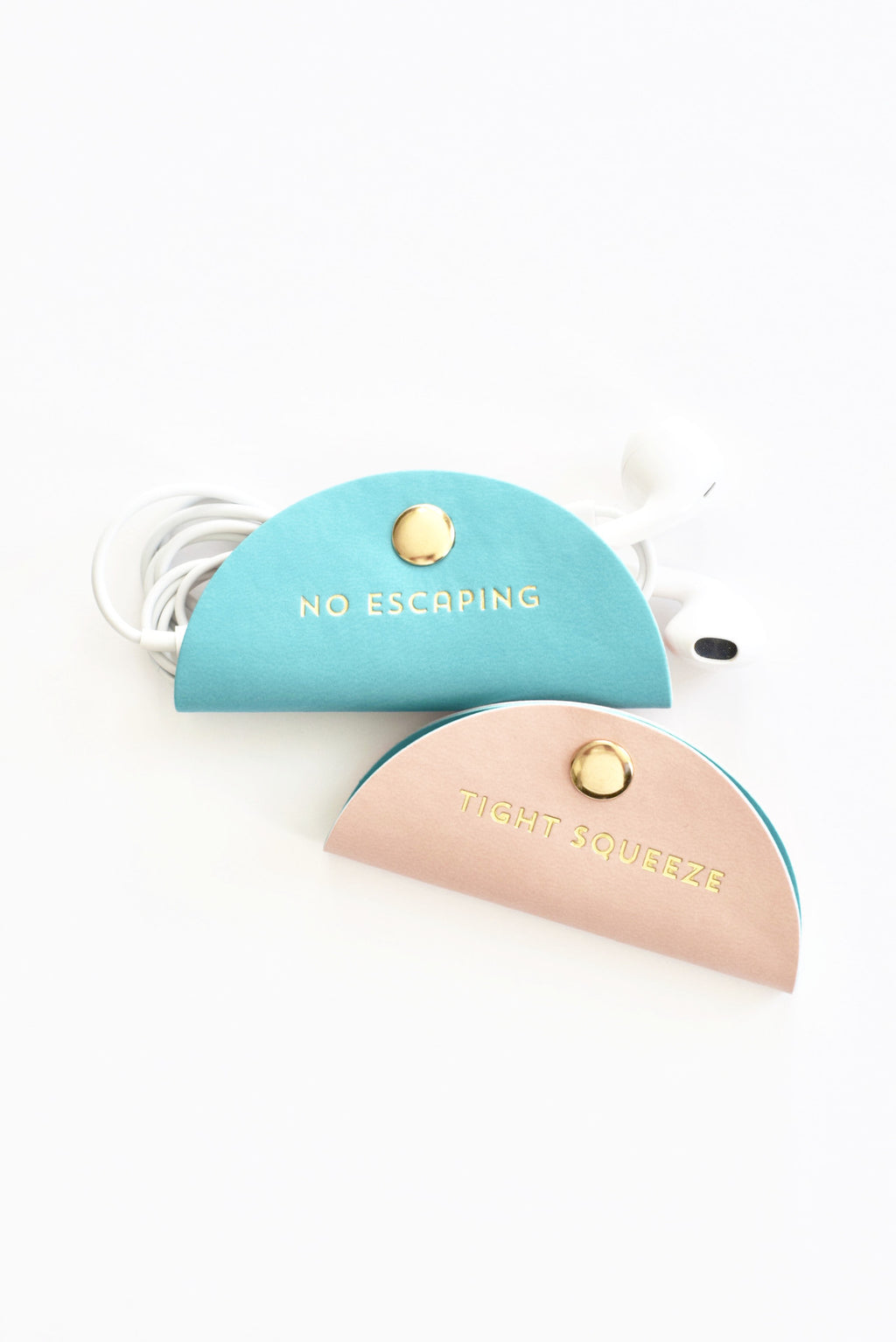 Tight Squeeze Headphone Clips - Mint Pop Shop