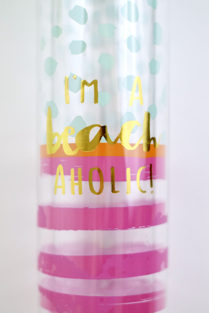 Beach Lover Water Bottle - Mint Pop Shop