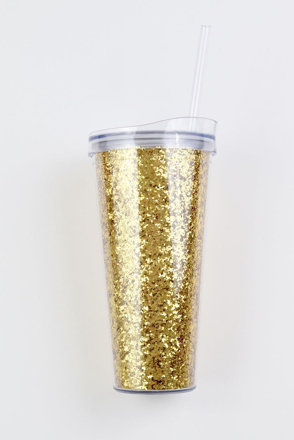 Gold Glitter Tumbler - Mint Pop Shop