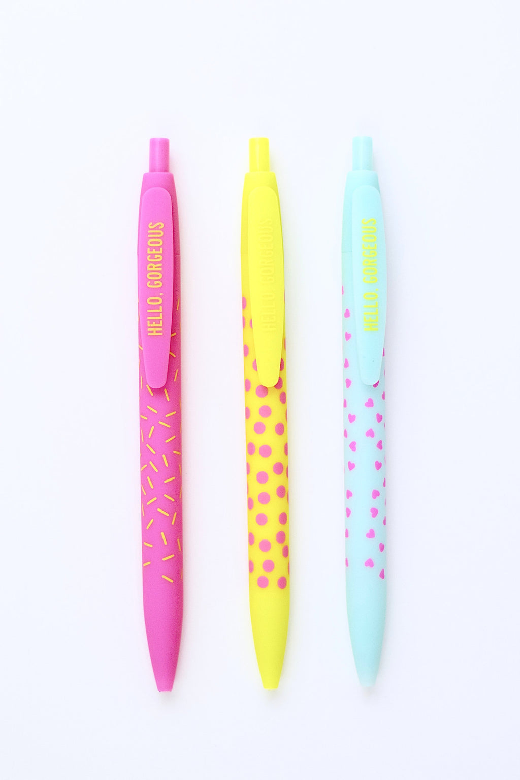 Hello Gorgeous Pen Set - Mint Pop Shop