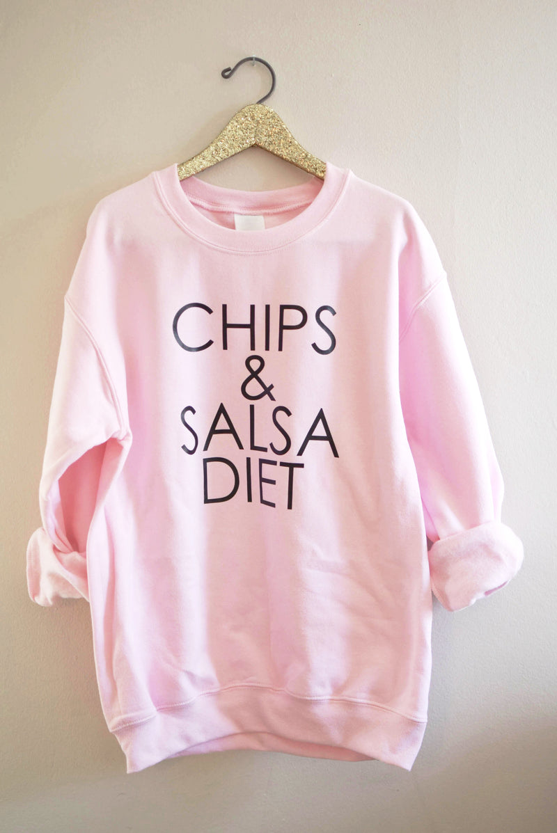 Chips & Salsa Diet - Crew Neck Sweatshirt - Mint Pop Shop