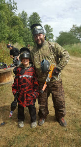 Encourage the next generation of paintball players