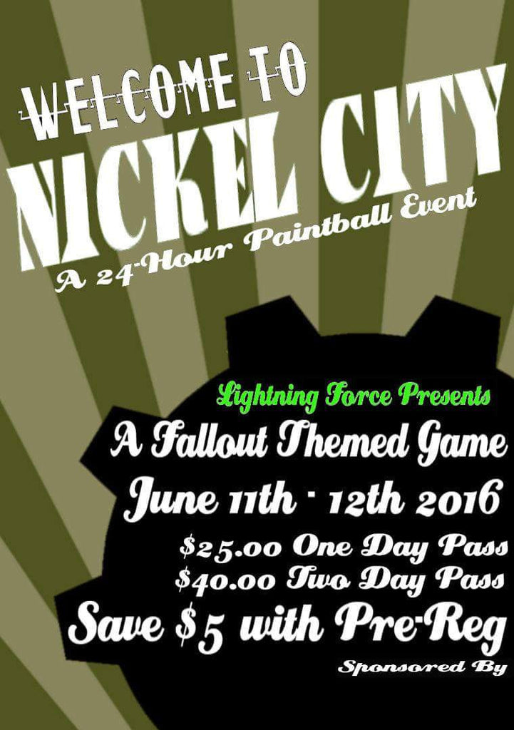 Nickel City Scenario Paintball event @ Grc Paintball