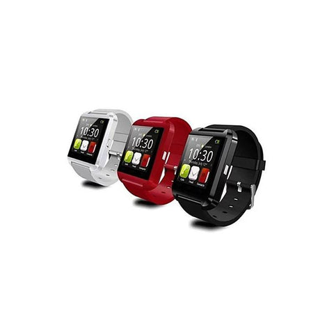 Bluetooth Silicone Smart Watches for iOS & Android - Assorted Colors - Dopy - 1