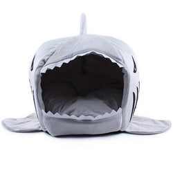 Large Mouth Shark Sponge Nest House Comfortable Pet House - Dopy - 1