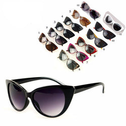 Womens Polarized Cat Eye Designer Sunglasses