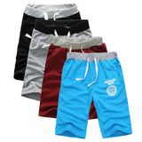 Mens Casual Cotton Jogger Shorts