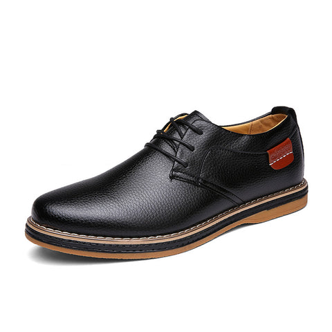 Leather Breathable Oxford Shoes