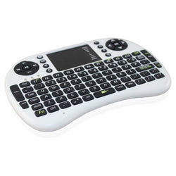 Mini Wireless Keyboard 2.4GHz English Air Mouse Keyboard Remote Control Touchpad For Android TV Box Notebook Tablet Pc - Dopy