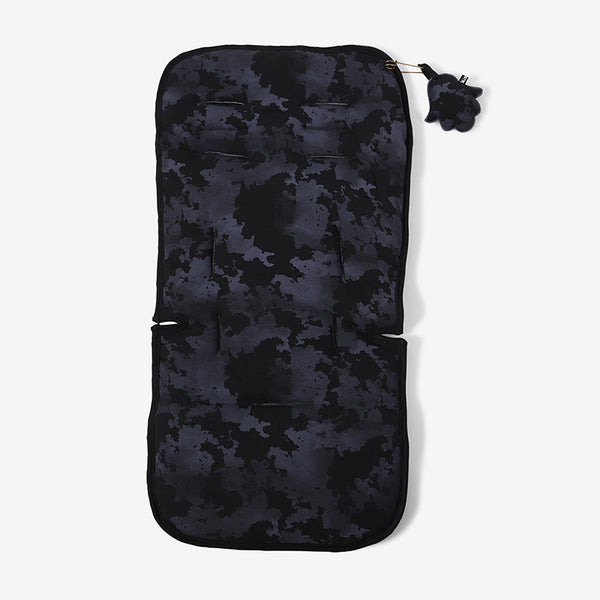 Jersey Cotton Stroller Liner - Black