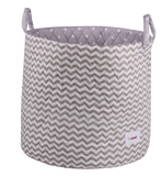 storage basket grey chevron