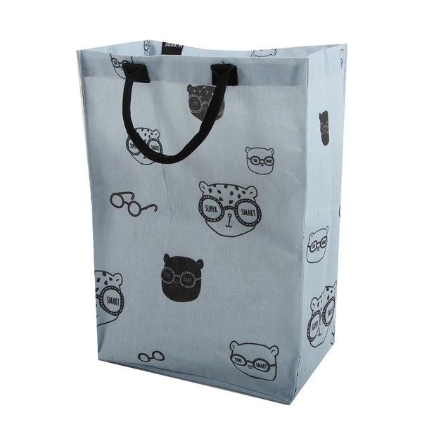 Storage Bag - Blue and black 'Super smart'