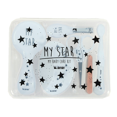 Baby Grooming Kit - Blue Stars