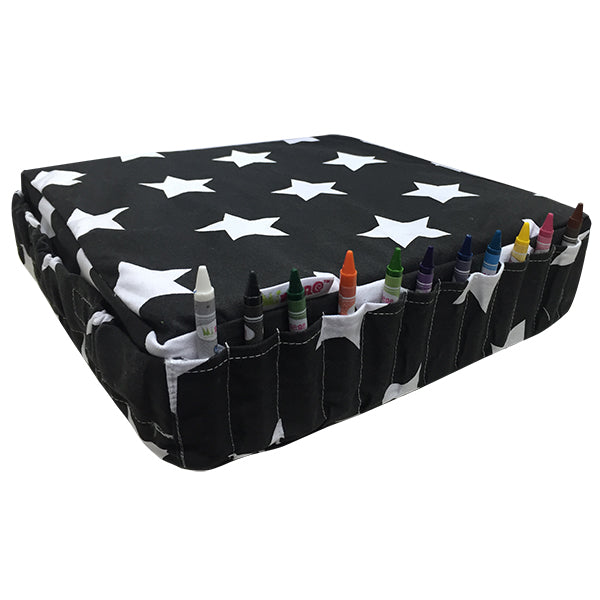 Booster Cushion - Black Star