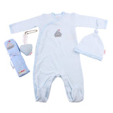 Newborn Baby Gift - Blue & White