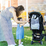 Pushchair Net Bag - Grey