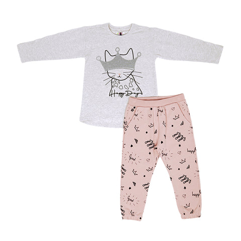 Happy Days - Top and Trouser Set - 2y - 6y