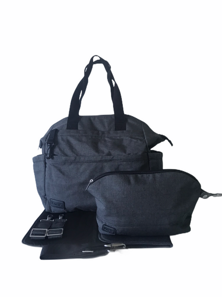 Nappy Bag - Maya - Dark Grey